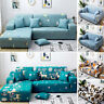 1/2/3/4-Seater Non-slip Geometric Sofa Cover Elastic Stretch Slipcovers Couch