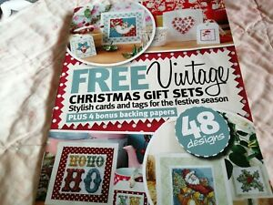 CROSS STITCH CHART FESTIVE  CHART BOOKLET CHRISTMAS VINTAGE STYLE DESIGNS