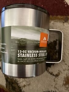 Stainless Steel Coffee Mug 12-Ounce Double Wall Vacuum-sealed Outdoor Camping