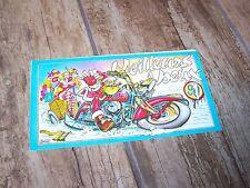 Carte de vœux HARLEY DAVIDSON 1991  T Custom  //