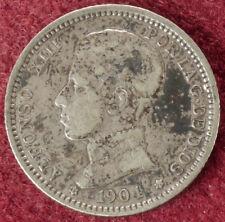 Espagne 1 peseta 1904 (04) (E2506)