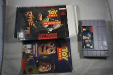 Toy Story DISPLAY BOX (Super Nintendo SNES) Complete in Box GOOD