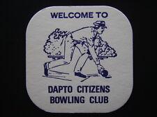 DAPTO CITIZENS BOWLING CLUB COASTER