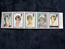 Princess Diana Commemorative Stamps 1961-1997 With Rare Price Still Attached
