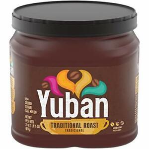 Yuban Traditional Medium Roast Ground Coffee 31 Oz Canister Original...