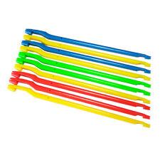 10 Pcs x Plastic Multicolor Fishing Hook Disgorgers Detacher Dehooker Removers