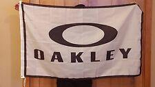 New Oakley Advertising Promotional Flag 3 X 5 Ft Banner