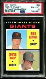 1971 TOPPS #276 GEORGE FOSTER RC PSA 8.5 A3077216-257
