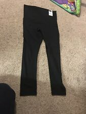 BNWT Ladies Black Jojo Maman Bebe Maternity Leggings Size 16-18 L Over Bump