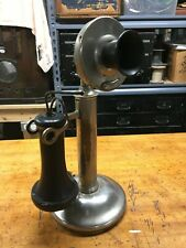 Western Electric 20B Candlestick Telephone - Nickel Finish - c.1910