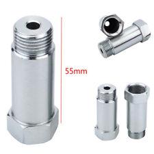 2* 55mm O2 Oxygen Sensor Extension Spacer M18 X 1.5 CEL Fix