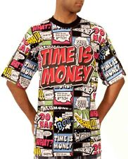Time Is Money Men's Designer Marvel Comic Beano T-Shirts, New Hip Hop Star Era G
