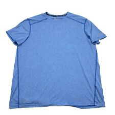 Russell Dri-Power Blue Shirt Training Fit Dri-Power Size Xl 1X Fitness Run Gym