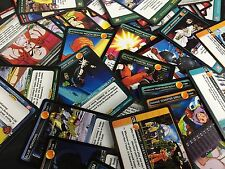 DRAGON BALL Z DBZ PANINI CCG : 100 CARD LOT COMMON, UNCOMMON & RARES