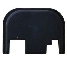 Slide Cover Rear Back Plate (Black) Aluminum made in USA for Glocks