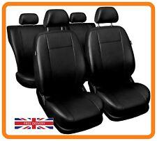 Leatherette car seat covers full set fit Alfa Romeo 159 Eco-leather black