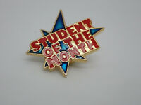 Student of the Month Award Star Vintage Lapel Pin