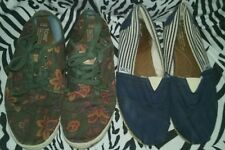Lot of 2 Pairs Toms Shoes Women's Size 8.5 ~ Free Priority Shipping!