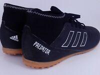 boys adidas predator black football trainers astro turf shoes boots size uk5