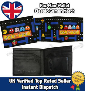 Pac-Man Wallet Textured Rubber (Tyre) outer- PU Leather Inner Christmas Retro