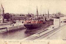1919 SAINT-NAZAIRE. - SORTIE DU PORT - FRANCE.