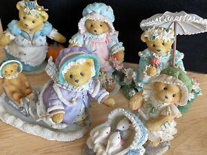 Cherished Teddies, Priscilla Hillman, MARY,GRETCHEN,JESSICA, CHRISTINA, KIMBERLY