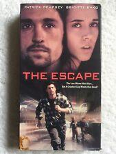 The Escape (Prev. Viewed VHS) Patrick Dempsey, Brigitte Bako RARE HTF!