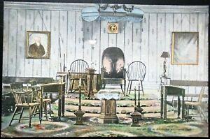 1907-15 Interior View of Old Alexandria-Washington Lodge, No. 22, Alexandria, VA
