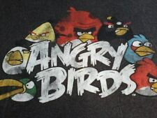 Angry Birds Gray Shirt Size Large, Nice Condition
