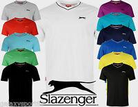 TEE SHIRT SLAZENGER  TENNIS COL V 100% COTON DU S AU 4XL