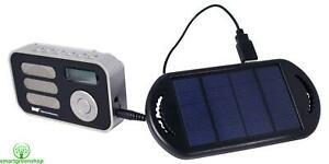 PowerPlus Stork DAB+ & FM Pocket Radio c/w Solar Panel, USB Cable & EVA Case