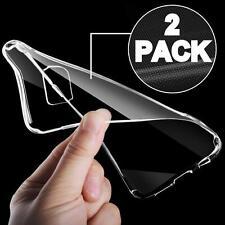 Samsung Galaxy S8 2 Pack TPU Gel goma piel funda claro como el cristal