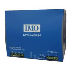 IMO potenza PSU 340-575AC input 24VDC output 480 W 20 Amp guida DIN MTG