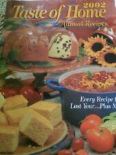 Taste of Home Annual Recipes 2002 (2001, Hardcover)