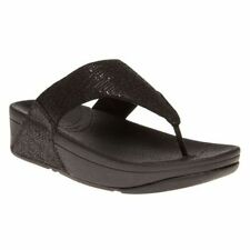 FitFlop Textile Wedge Sandals & Beach Shoes for Women
