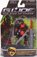 "GI Joe Rise Of Cobra. Anthony ""Flash"" Gambello. Hasbro 2009. unopened."