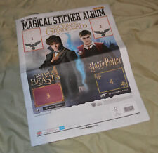 Panini FANTASTIC BEASTS CRIMES OF GRINDELWALD Magical Sticker Album + 6 Stickers