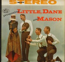 "LITTLE, DANE & MASON ""PRESENTING"" POP VOCAL JAZZ 60'S LP MERCURY PROMO"
