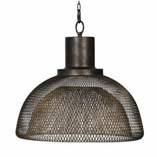 "Black Netted Chandelier/Pendant D18""x16"" - 43738-DS"