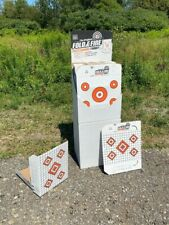 32 Cardboard Rifle/Shotgun Shooting Targets-Free Standing, Lightweight, Portable