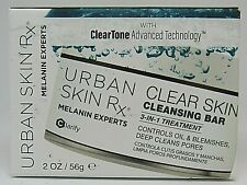 Urban Skin Rx 3-in-1 Treatment Clear Skin Cleansing Bar in Jar 2 oz New in Box