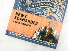 Fantastic Beasts and Where to Find Them Newt Scamander: A Movie Scrapbook NEW