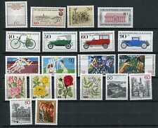 GERMANY BERLIN 1982 MNH COMMEMORATIVES COMPLETE YEAR 20 Stamps