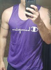Champion Mesh Practice Basketball Jersey Silky L Purple