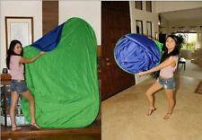 5x7 popup blue green screen chromakey lightweight