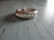 925 sterling silver CZ ring stamped DO Thailand size 7