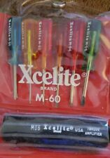 Xcelite M60 Mini Screwdriver Set / Slotted & Phillips / Torque Handle USA NOS