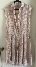 Bottega Veneta Womens Checkered Dress Size 42 NWOT $2100