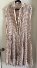Bottega Veneta Womens Checkered Dress Size 42 NWOT $2100