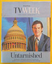Josh Brolin MISTER STERLING Chicago Tribune TV Week guide Jan 5 2003 The Shield